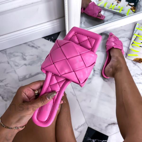 Růžové trendy pantofle-248475-31