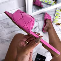 Růžové trendy pantofle-248475-01