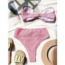 Světle růžové dvoudílné plavky-248492-044