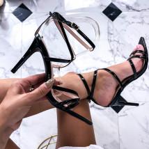 Černé sandále-248499-01